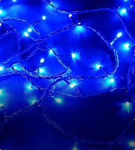 Новогодние гирлянды в одну нить